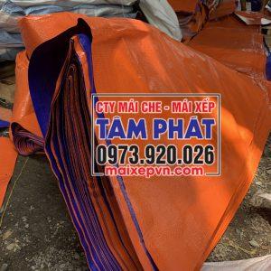 bạt nhựa xanh cam giá rẻ