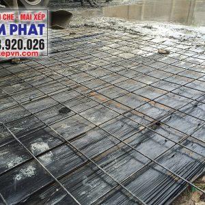 Bạt đen trải sàn đổ bê tông